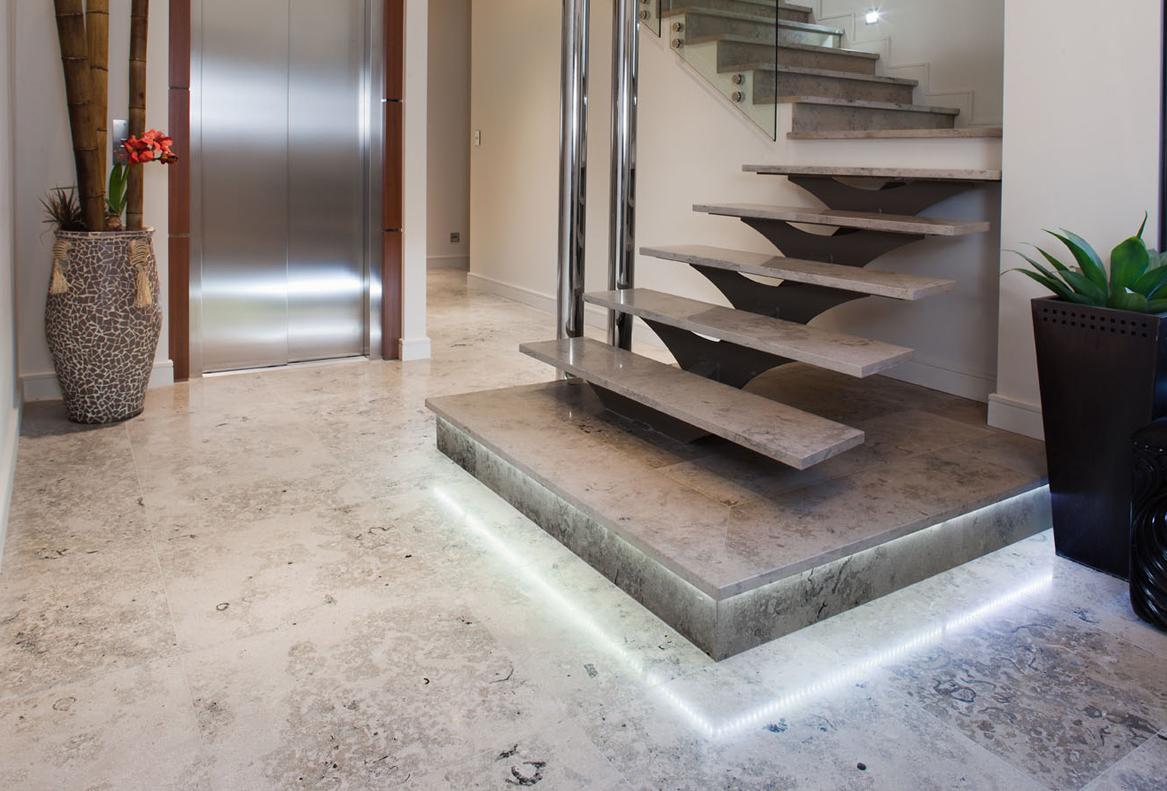 White Matt Kitchen Floor Tiles